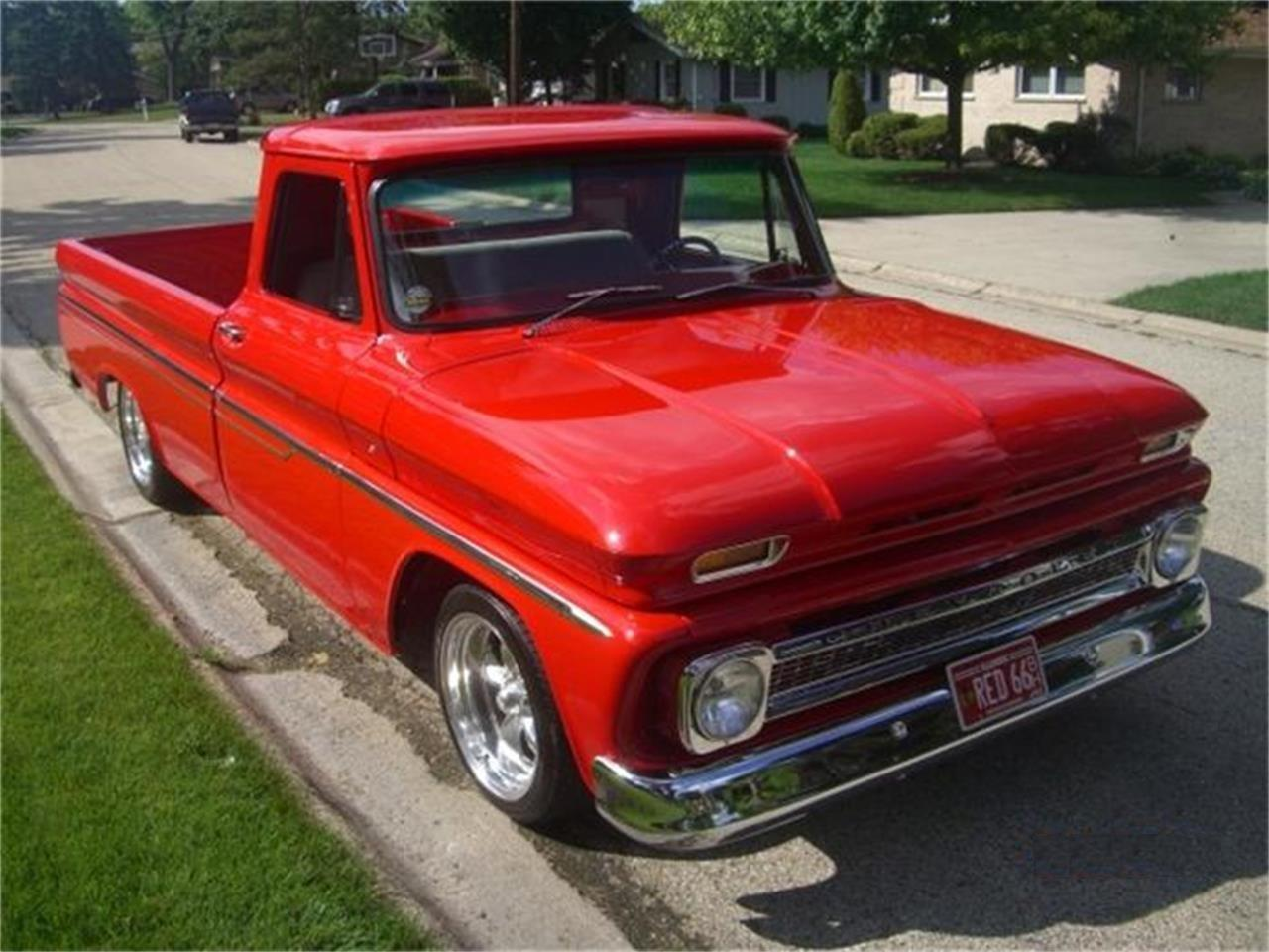 Large Picture of 1966 Chevrolet Pickup located in Lake Zurich Illinois - $34,900.00 Offered by Midwest Muscle Cars - 9HNB