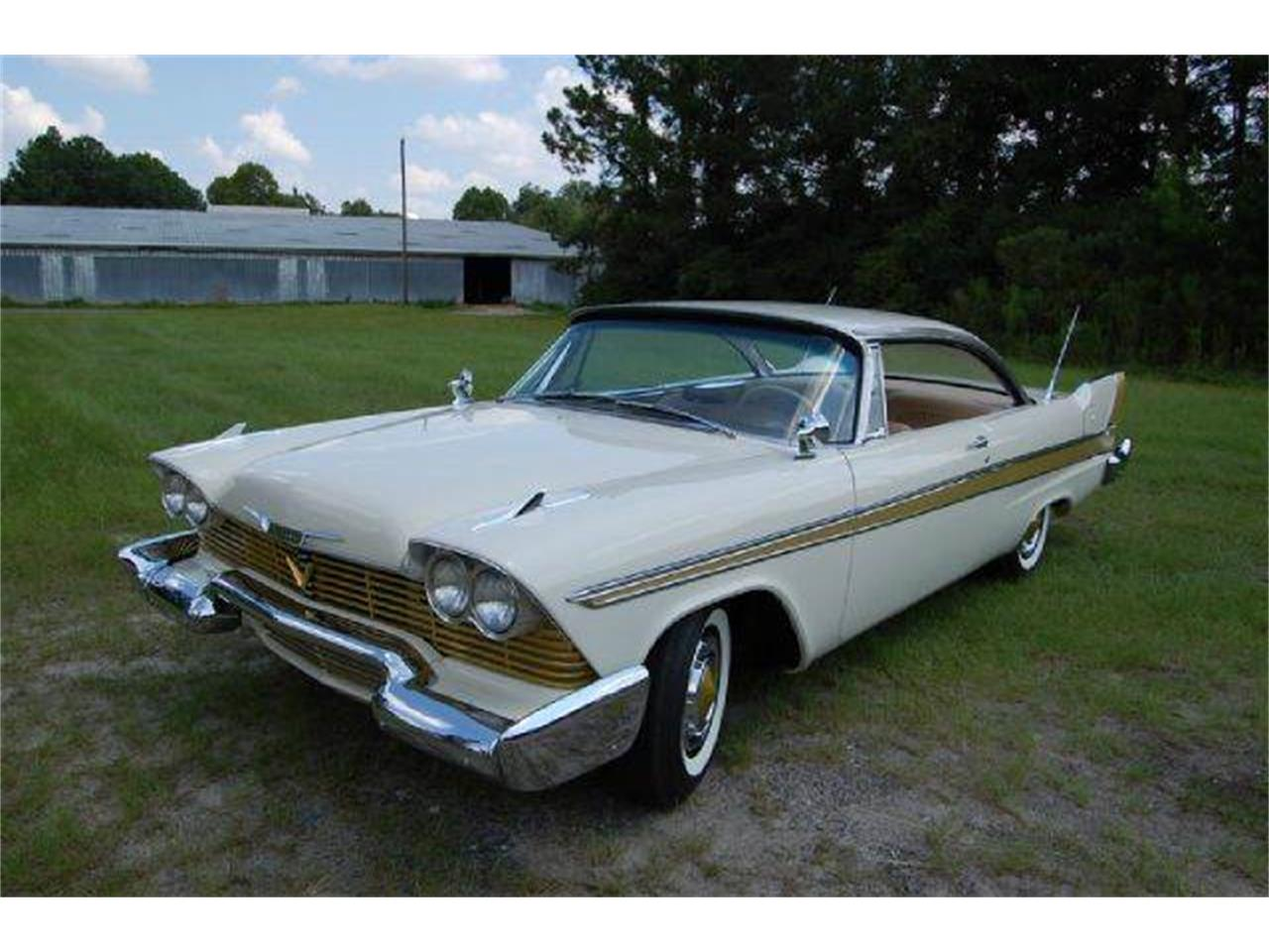1958 plymouth sport fury for sale cc. Black Bedroom Furniture Sets. Home Design Ideas