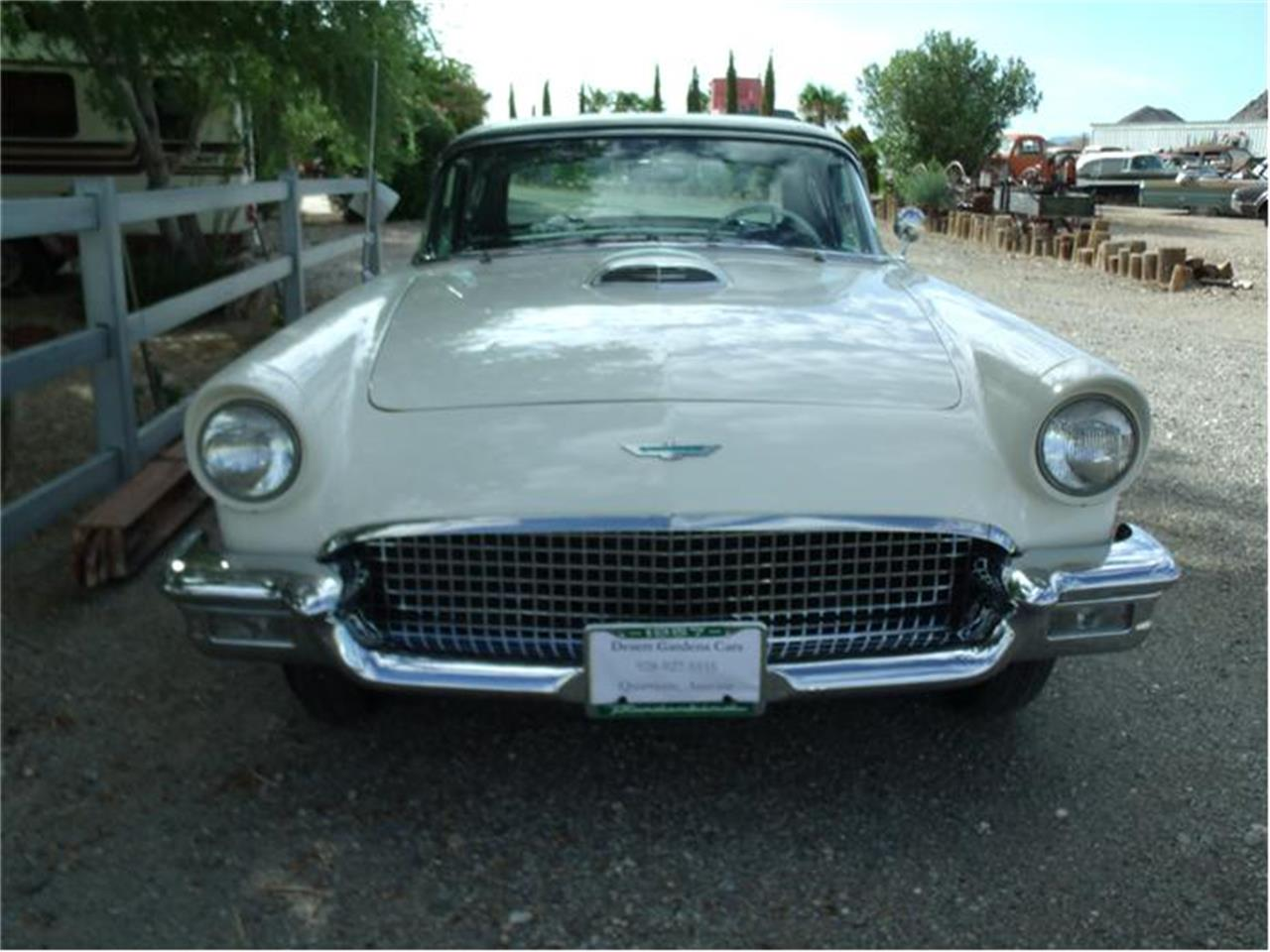 Large Picture of Classic 1957 Thunderbird located in Quartzsite Arizona Offered by Desert Gardens Classic Cars - 9ORD