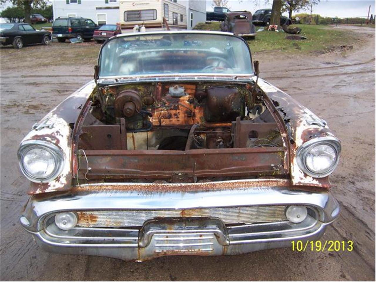 Large Picture of Classic '57 Oldsmobile 98 located in Parkers Prairie Minnesota - $5,000.00 - 9U7Y