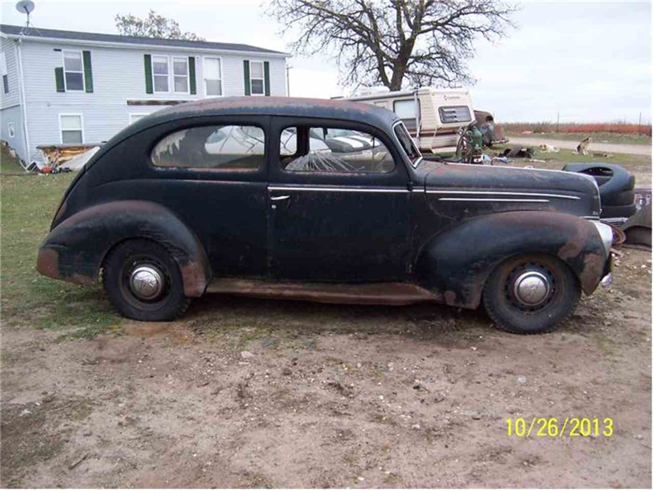 Large Picture of Classic 1939 Ford 2-Dr Sedan located in Parkers Prairie Minnesota - $3,500.00 - 9WD4