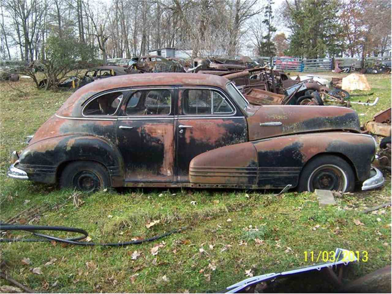 1946 pontiac 4 dr sedan for sale cc 467043. Black Bedroom Furniture Sets. Home Design Ideas