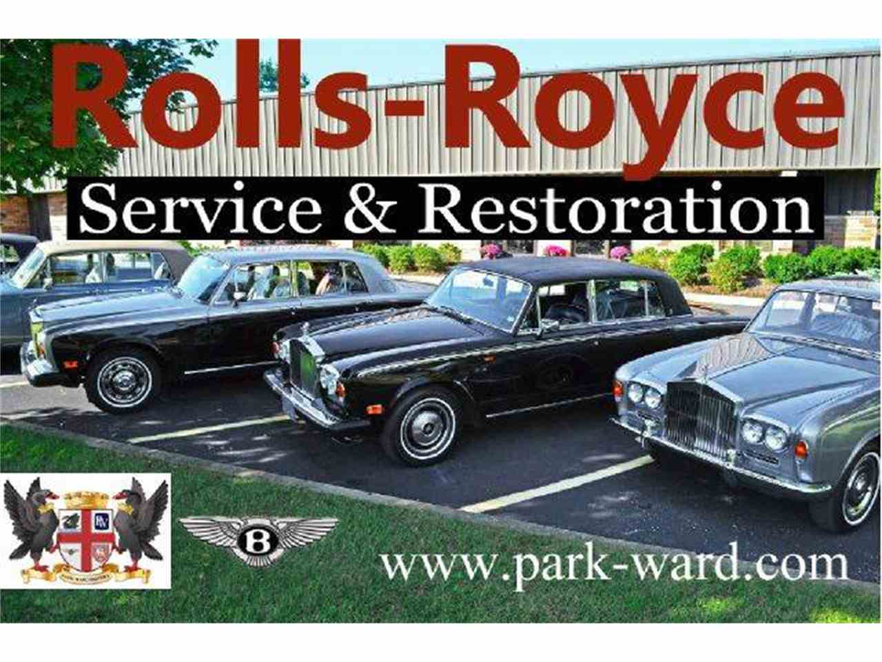 Large Picture of Classic 1973 Silver Shadow Auction Vehicle Offered by Park-Ward Motors - A949