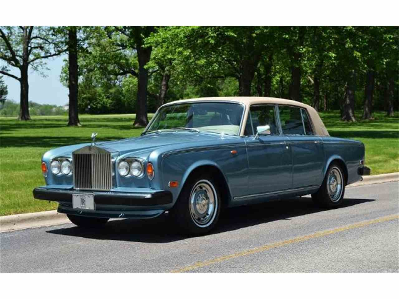 Large Picture of Classic '73 Silver Shadow located in Illinois Auction Vehicle Offered by Park-Ward Motors - A949