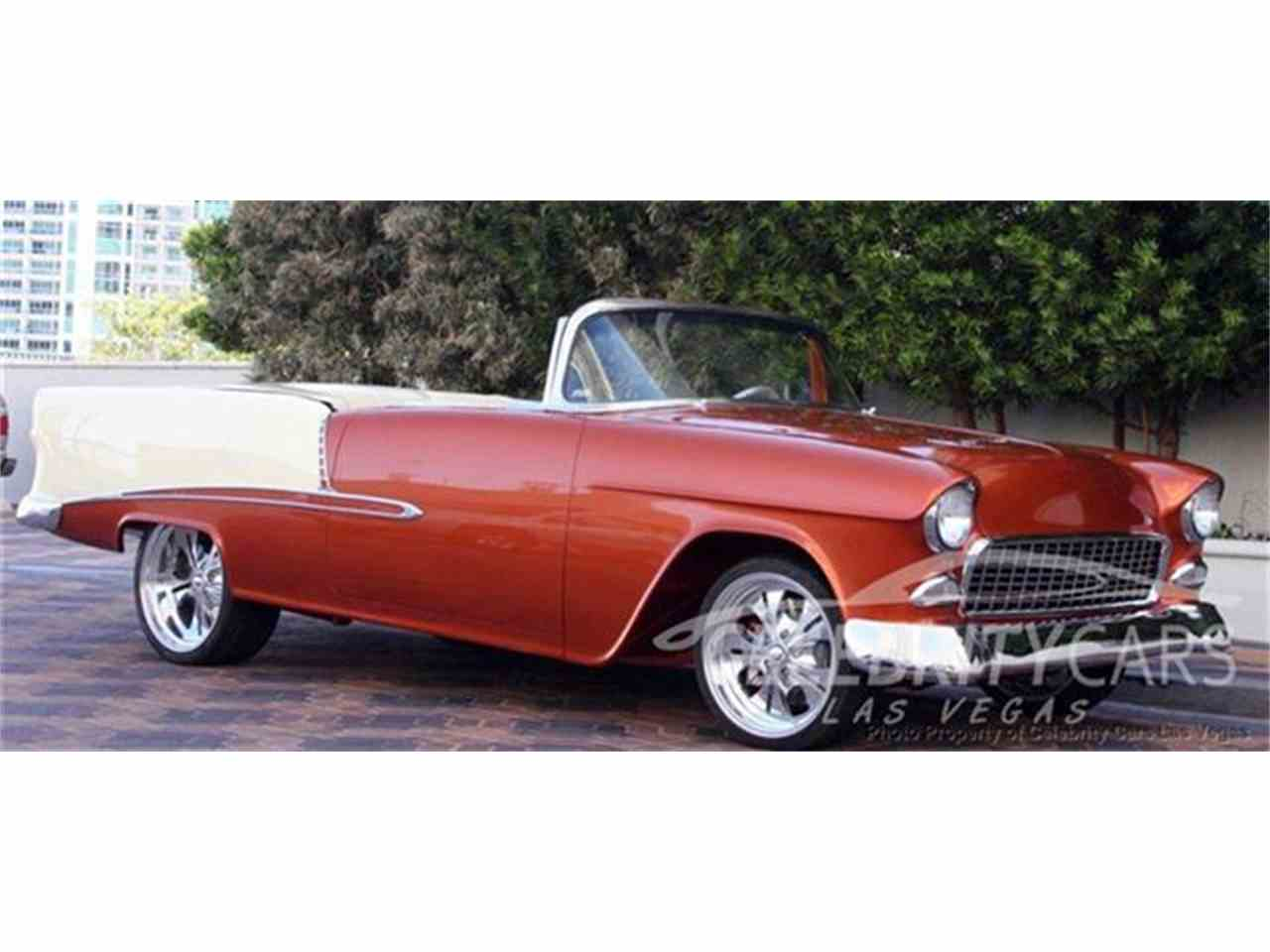 Large Picture of 1955 Chevrolet Bel Air Offered by Celebrity Cars Las Vegas - AMXB