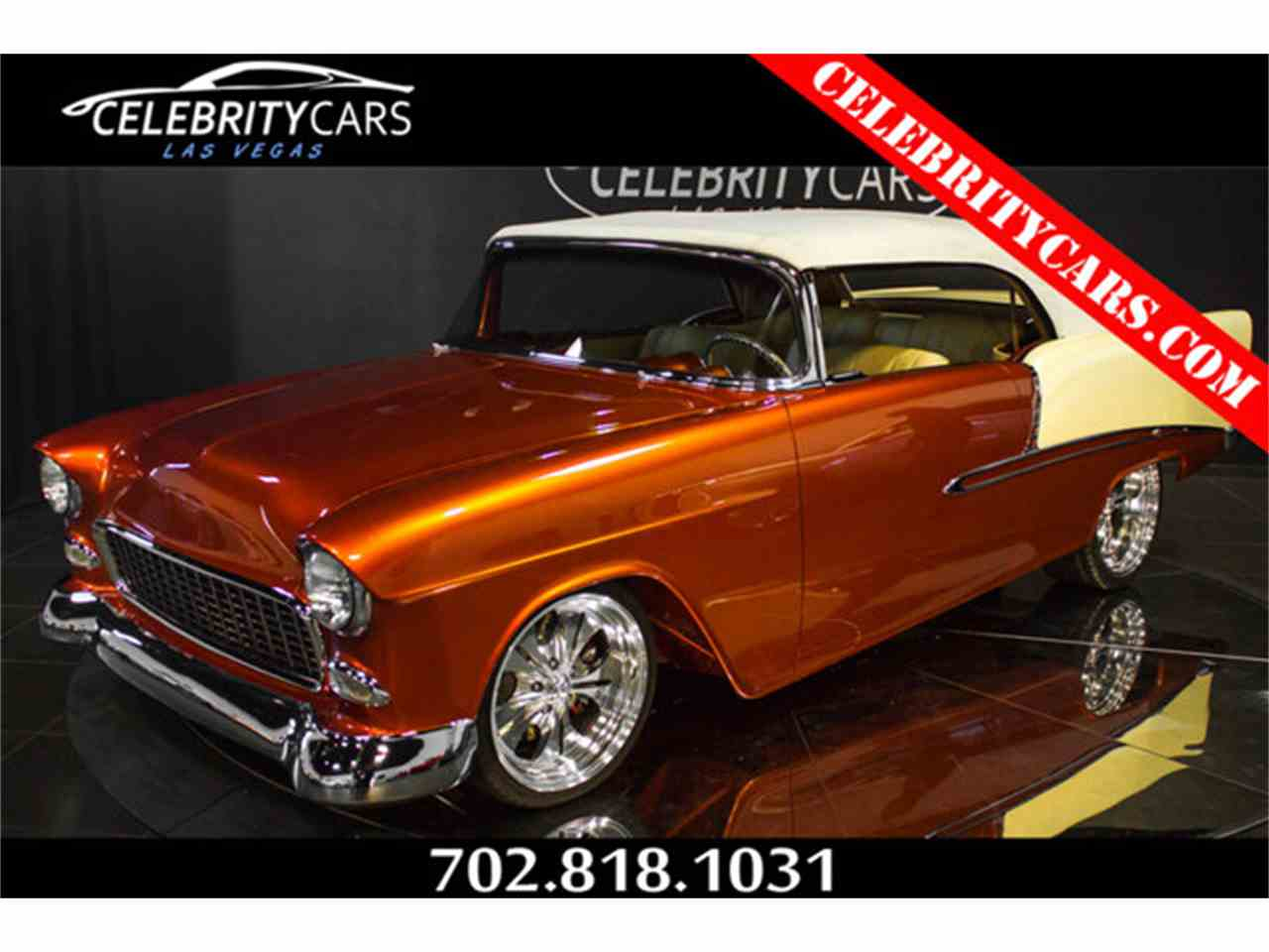 Large Picture of Classic 1955 Chevrolet Bel Air located in Las Vegas Nevada Offered by Celebrity Cars Las Vegas - AMXB