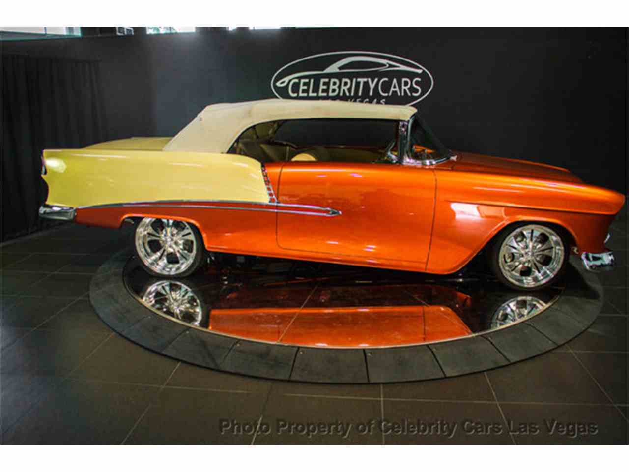 Large Picture of '55 Chevrolet Bel Air - $159,000.00 Offered by Celebrity Cars Las Vegas - AMXB