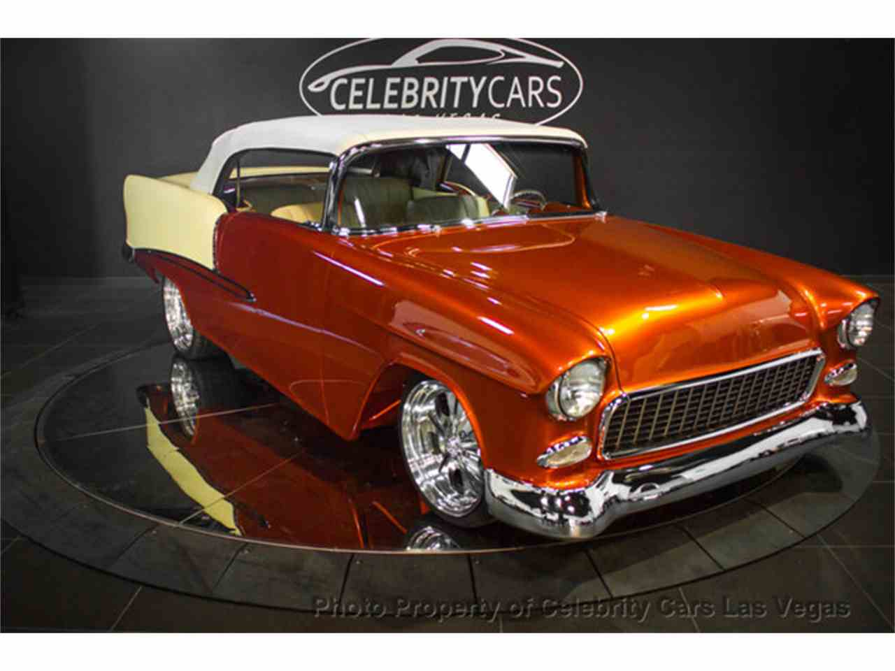 Large Picture of Classic '55 Chevrolet Bel Air located in Las Vegas Nevada Offered by Celebrity Cars Las Vegas - AMXB