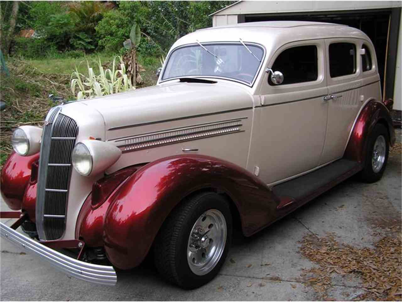 Large Picture of '36 4-Dr Sedan - AN6I