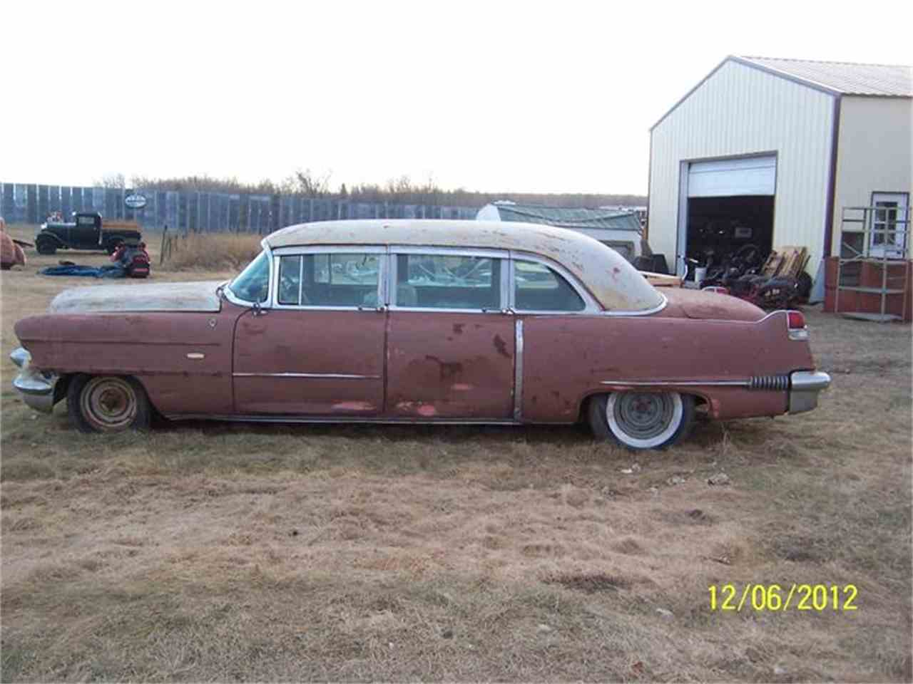 Large Picture of '56 Fleetwood Limousine - ANIM