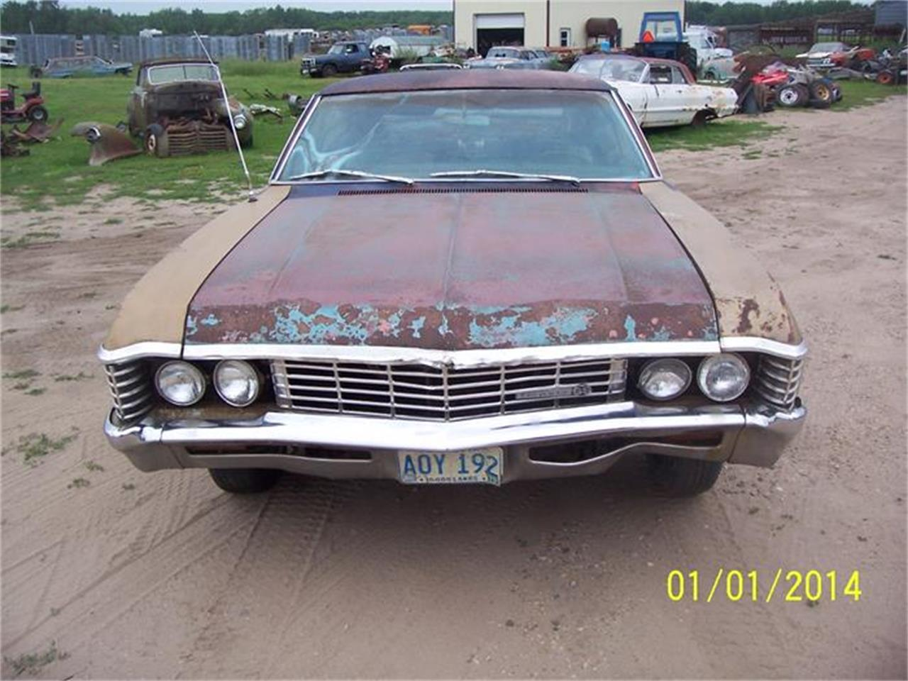 Large Picture of 1967 Chevrolet Impala SS located in Minnesota - AQU7