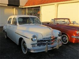Picture of Classic 1949 Plymouth Sedan located in Miami Florida - $8,500.00 Offered by Sobe Classics - AVWQ
