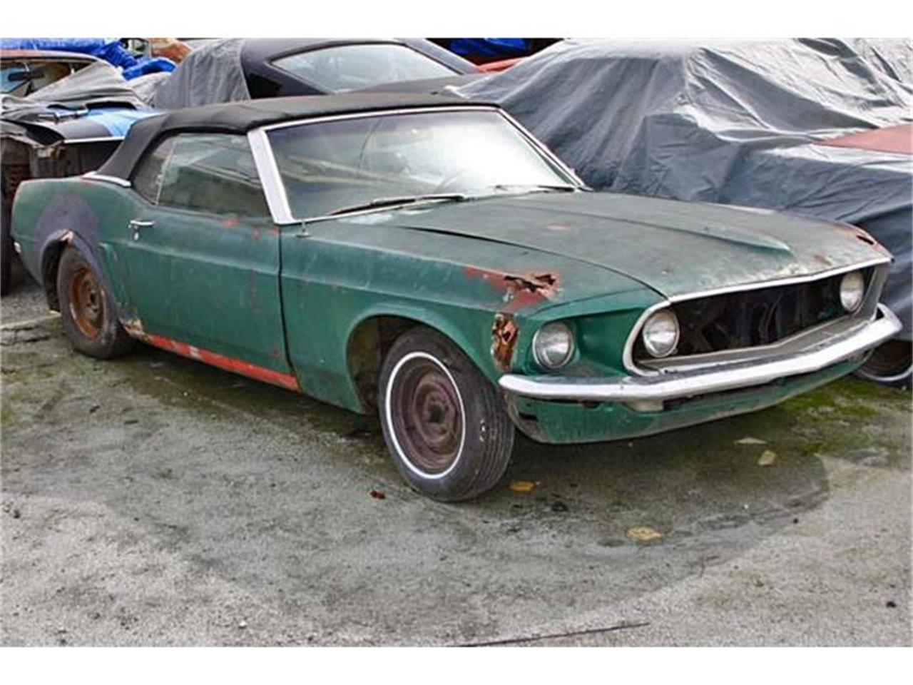 Large picture of classic 1969 mustang located in marina california offered by mustang beginnings awbj