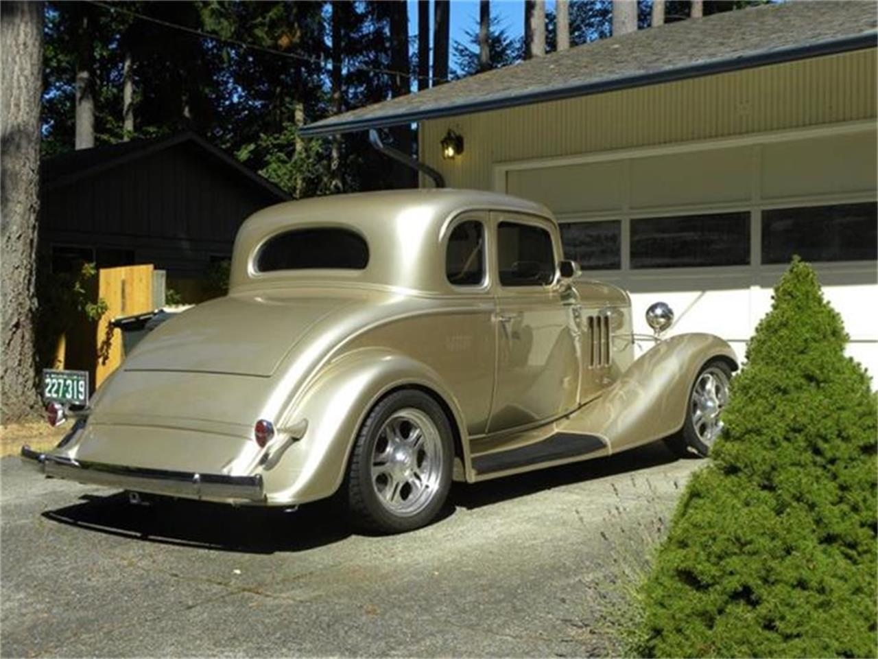 Large Picture of Classic 1933 Chevrolet 5-Window Coupe located in Olympia Washington - $68,000.00 Offered by a Private Seller - B1LC