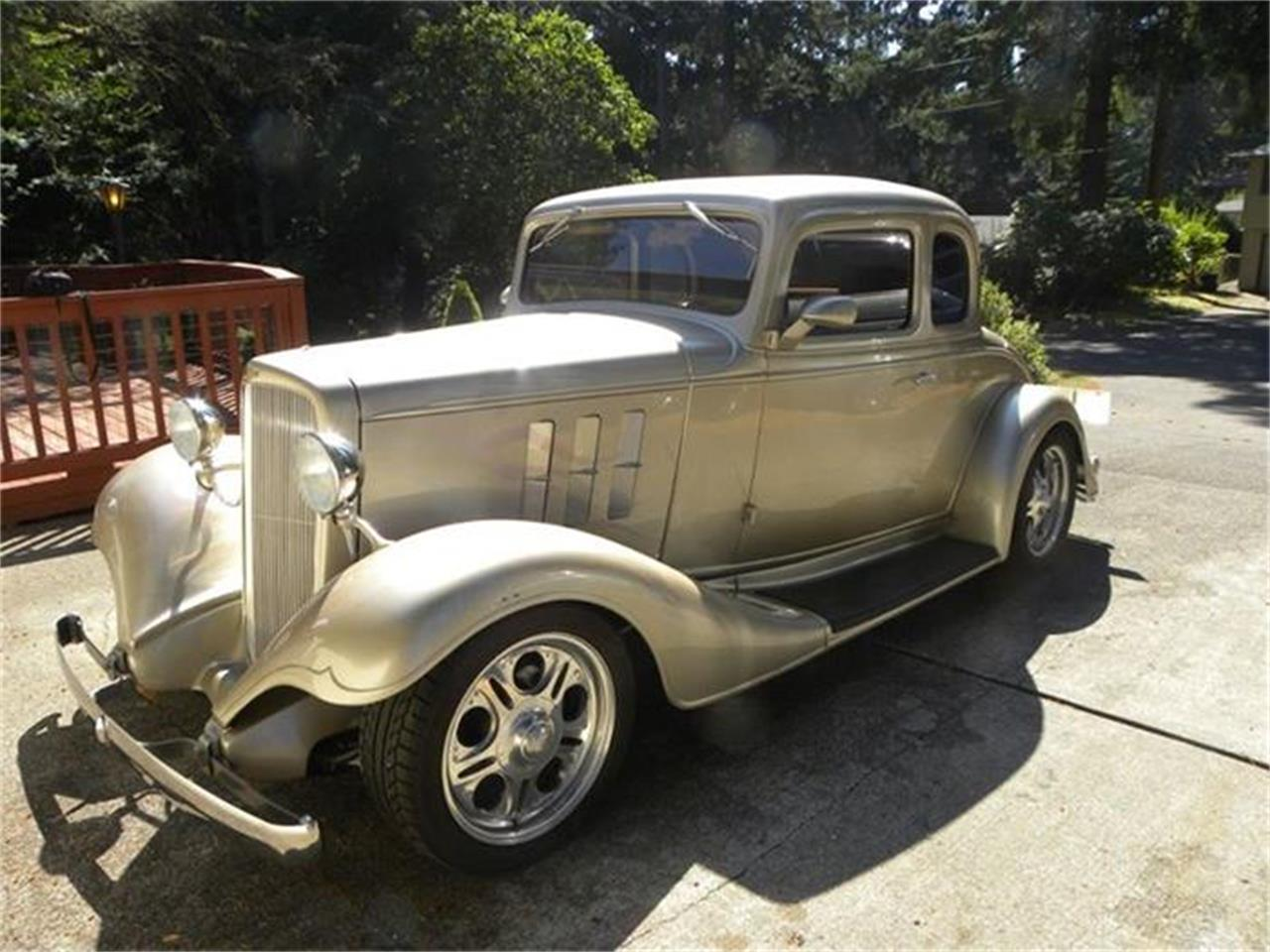 Large Picture of '33 Chevrolet 5-Window Coupe located in Olympia Washington - $68,000.00 Offered by a Private Seller - B1LC