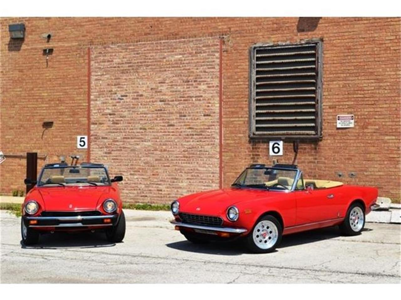 Large Picture of 1980 Fiat 124 located in Barrington Illinois Offered by Roadster Salon - B1YL