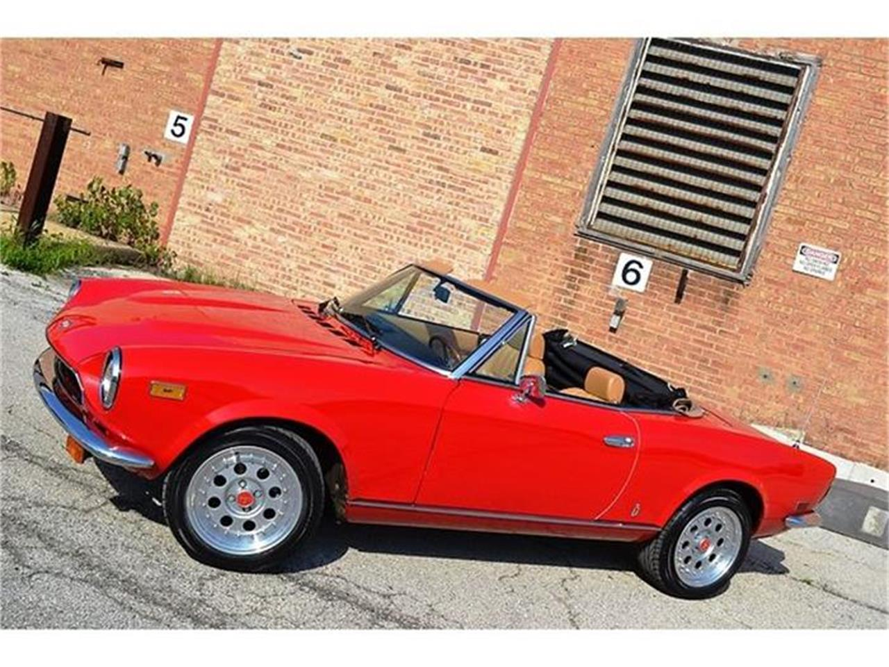 Large Picture of 1980 124 located in Barrington Illinois Offered by Roadster Salon - B1YL