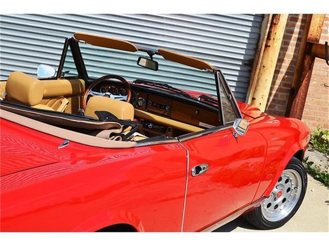Large Picture of '80 Fiat 124 located in Barrington Illinois Offered by Roadster Salon - B1YL