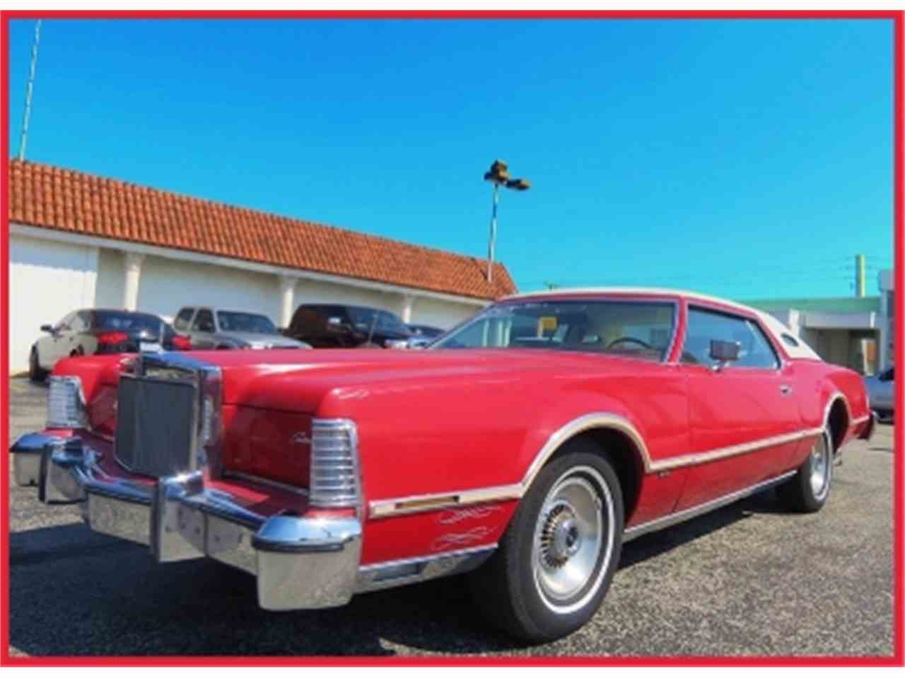 Large Picture of '76 Continental - B51Z