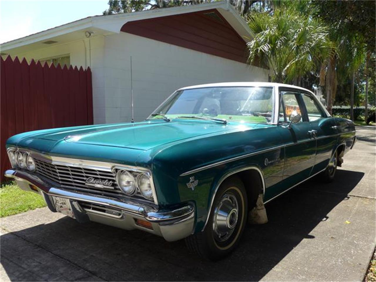 Large Picture of '66 Chevrolet Impala located in Seffner Florida Offered by a Private Seller - B878