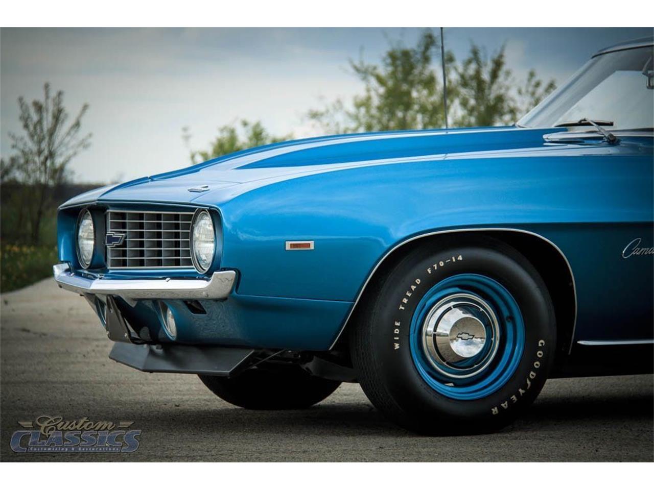 1969 Chevrolet Camaro Copo For Sale Classiccars Com Cc