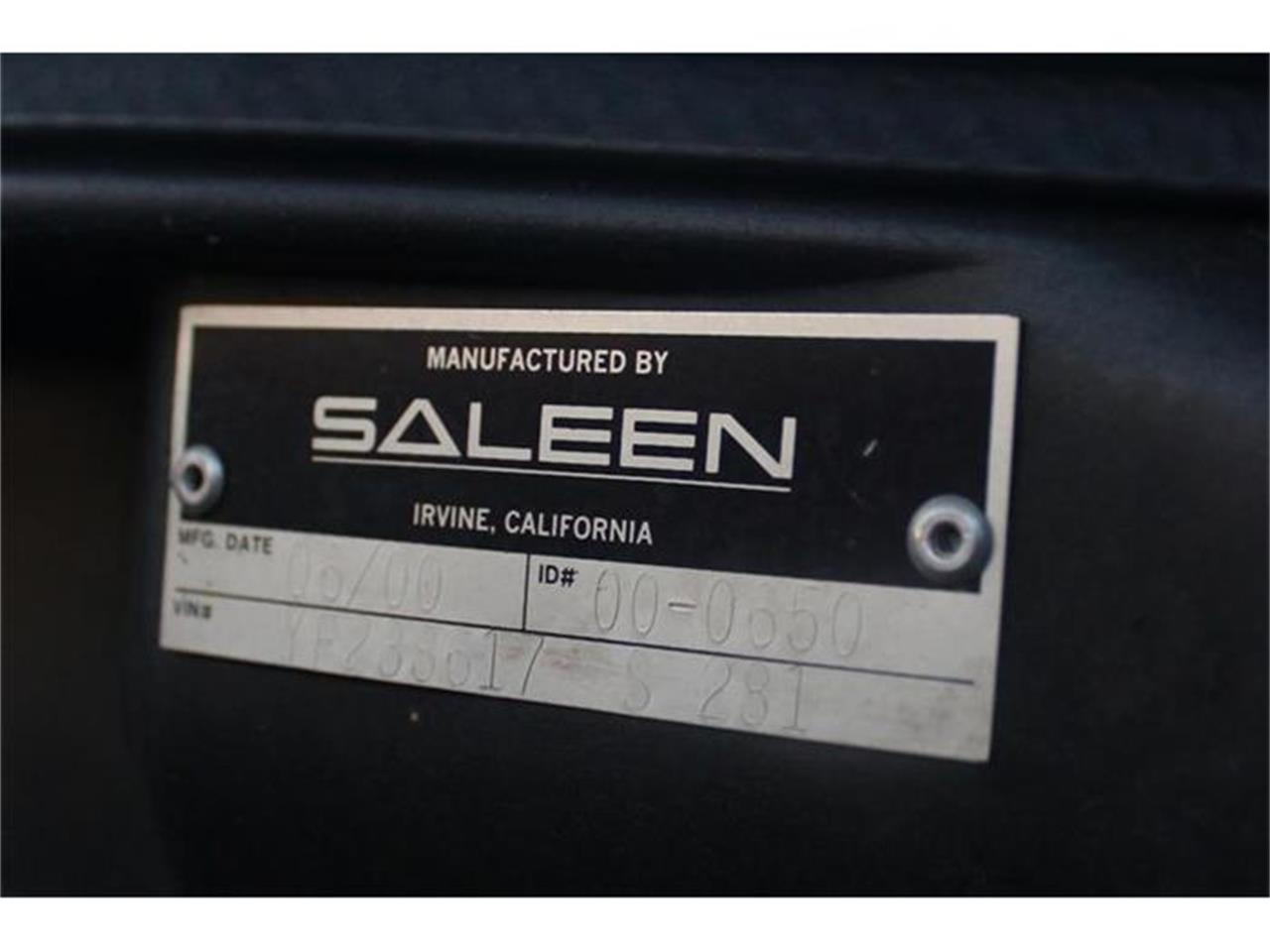Large Picture of 2000 Mustang (Saleen) located in California Offered by a Private Seller - BFEV