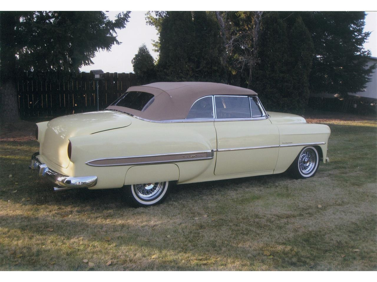 Large Picture of Classic '53 Chevrolet Bel Air located in Deer Park Washington - $68,000.00 Offered by a Private Seller - BR24
