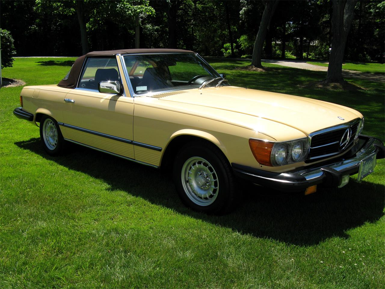 Large Picture of '82 380SL located in Ohio - BS6W