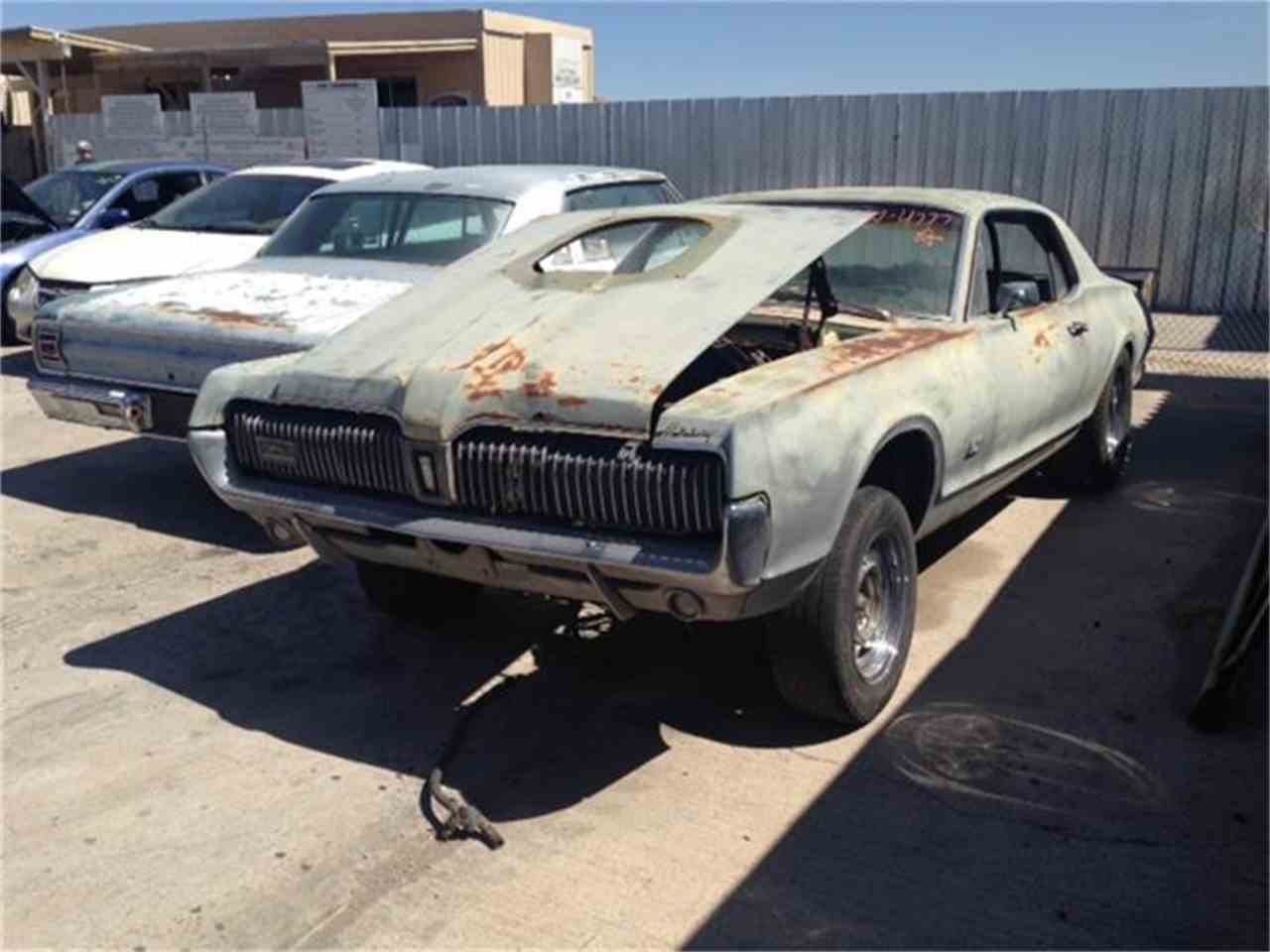 Large Picture of '67 Cougar - BVG1