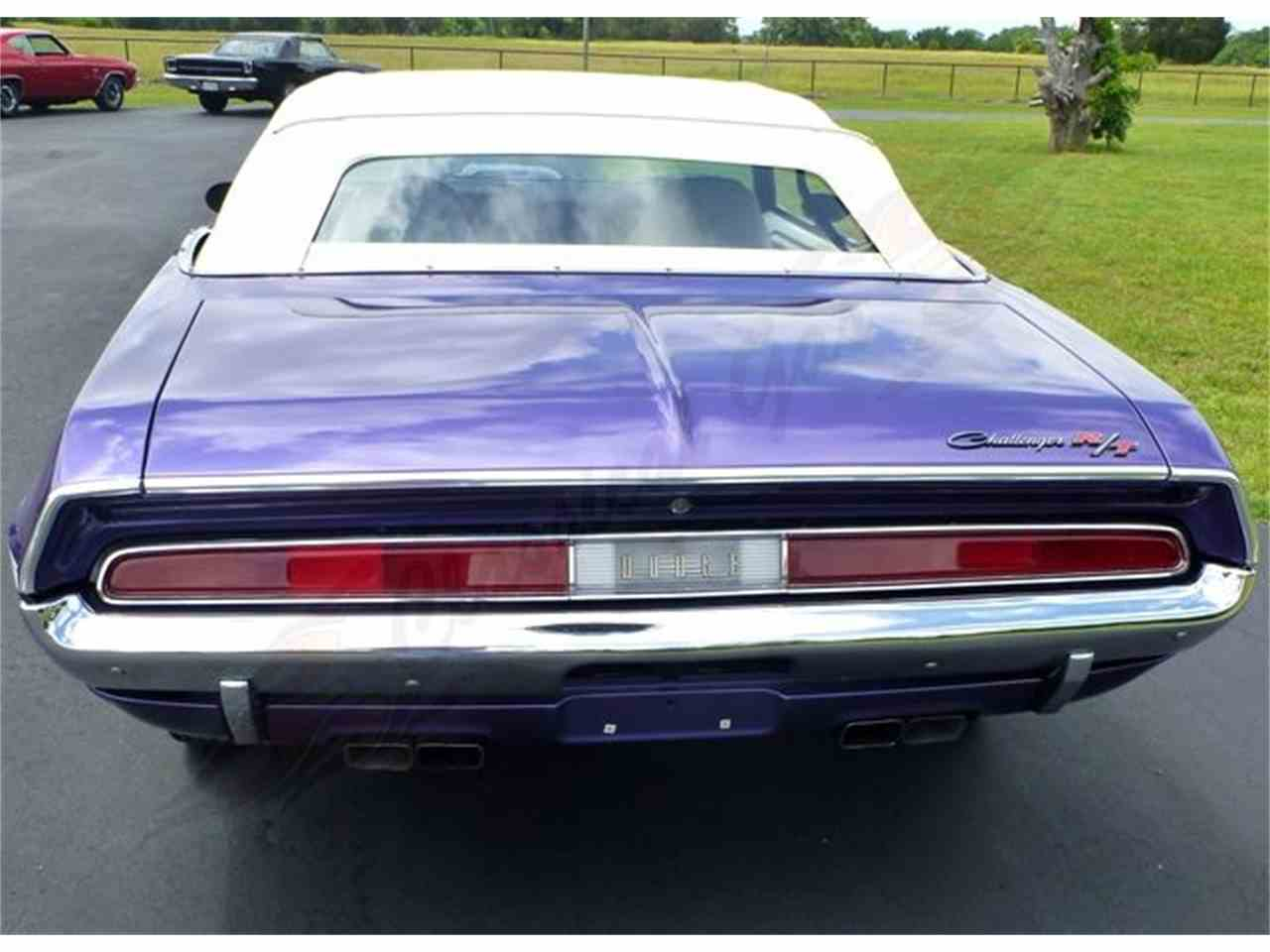 Large Picture of '70 CHALLENGER CONVERTIBLE R/T located in Texas Offered by Classical Gas Enterprises - BVHV