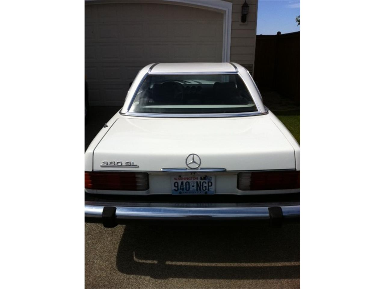 Large Picture of '82 380SL - BY0G