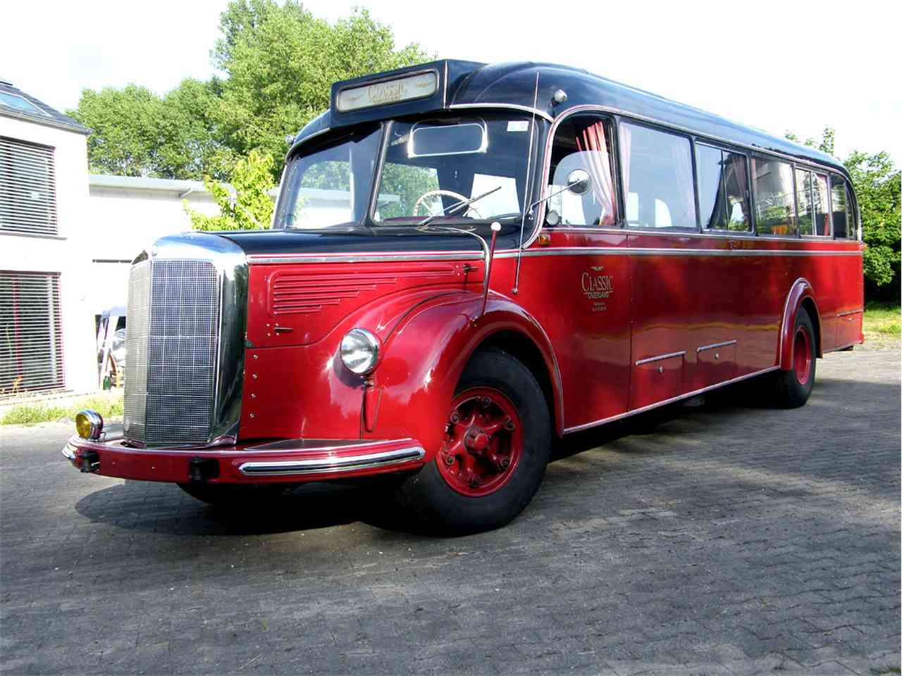 1950 mercedes benz o 6600 for sale cc 557447. Black Bedroom Furniture Sets. Home Design Ideas
