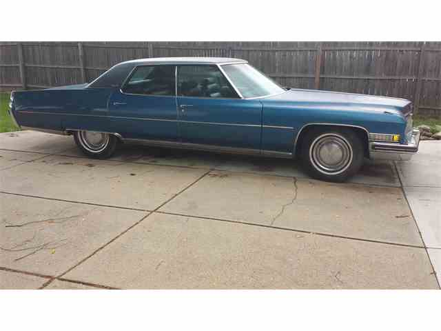 1973 Cadillac DeVille for Sale on ClicCars.com