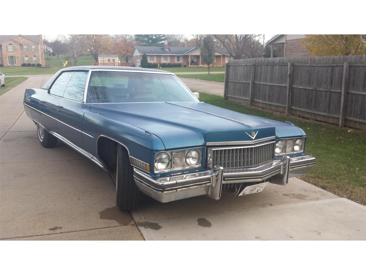 Large Picture of 1973 Cadillac DeVille located in Hamilton Ohio - $5,500.00 Offered by a Private Seller - BYGT