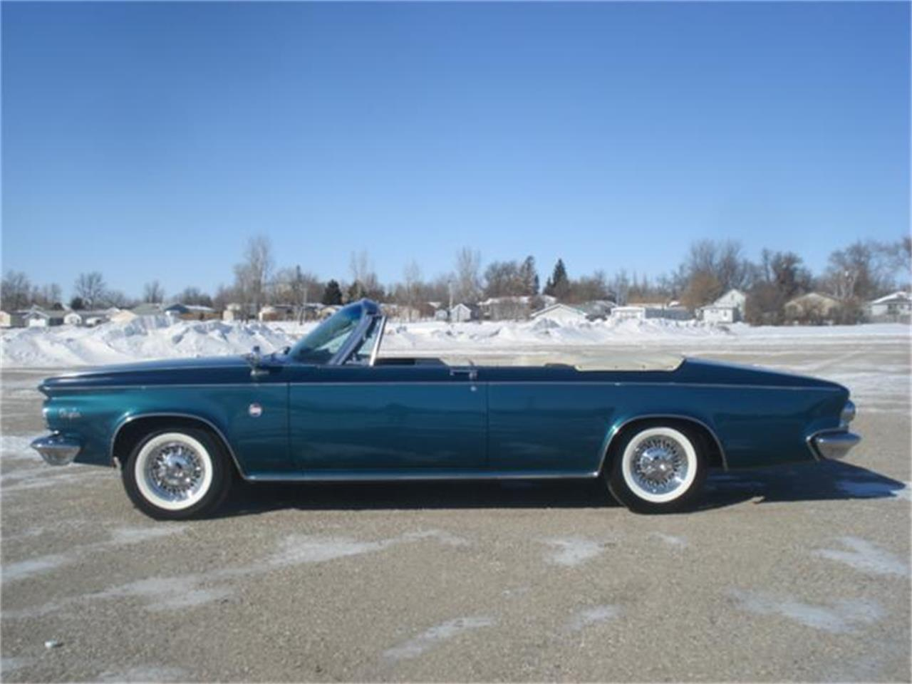 1963 Chrysler 300 Pacesetter Edition Convertible For Sale