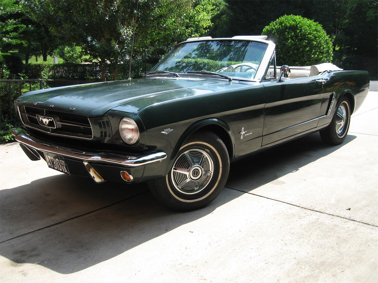 Large Picture of Classic 1964 Mustang located in Arlington Virginia - BZ8Z