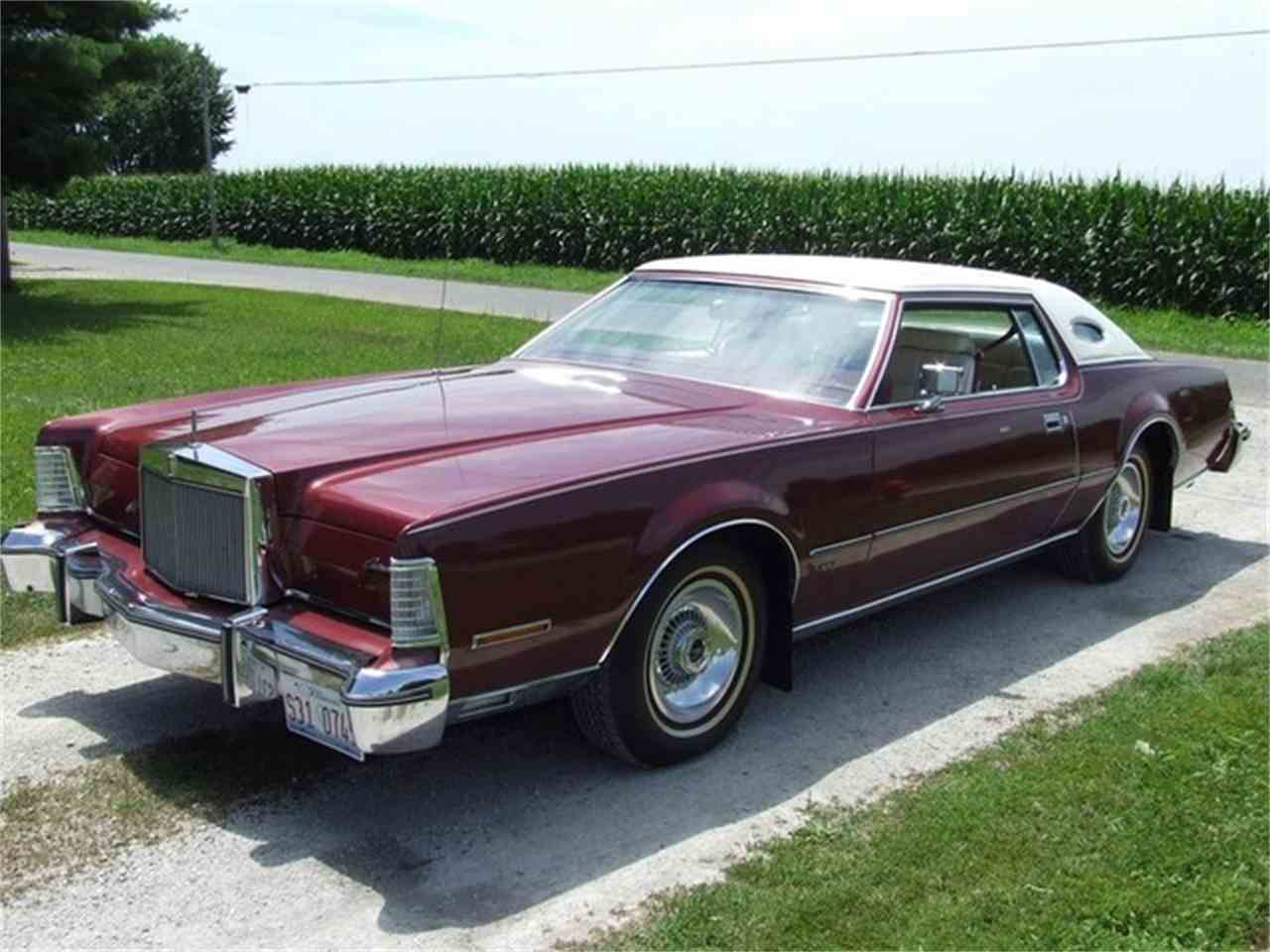 Large Picture of '75 Continental Mark IV - C01K