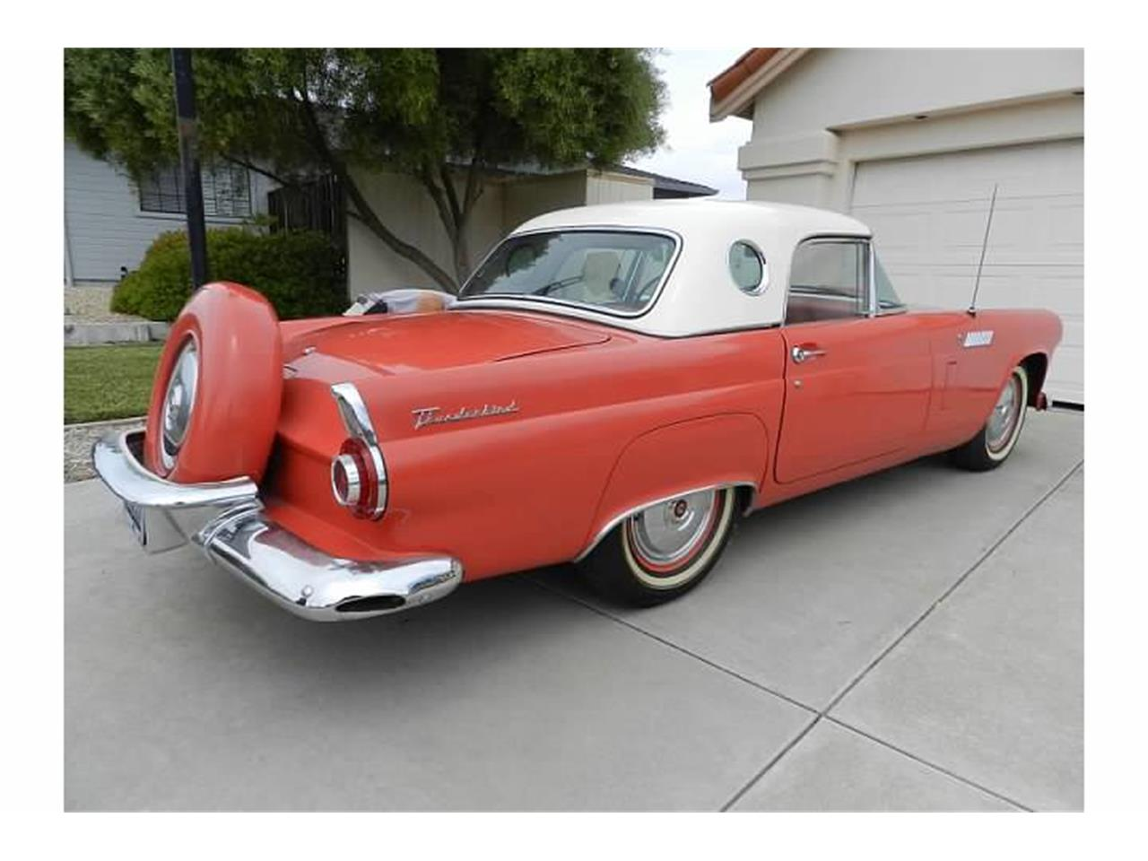 Large Picture of Classic '56 Thunderbird located in Hollister California Offered by a Private Seller - C1JY