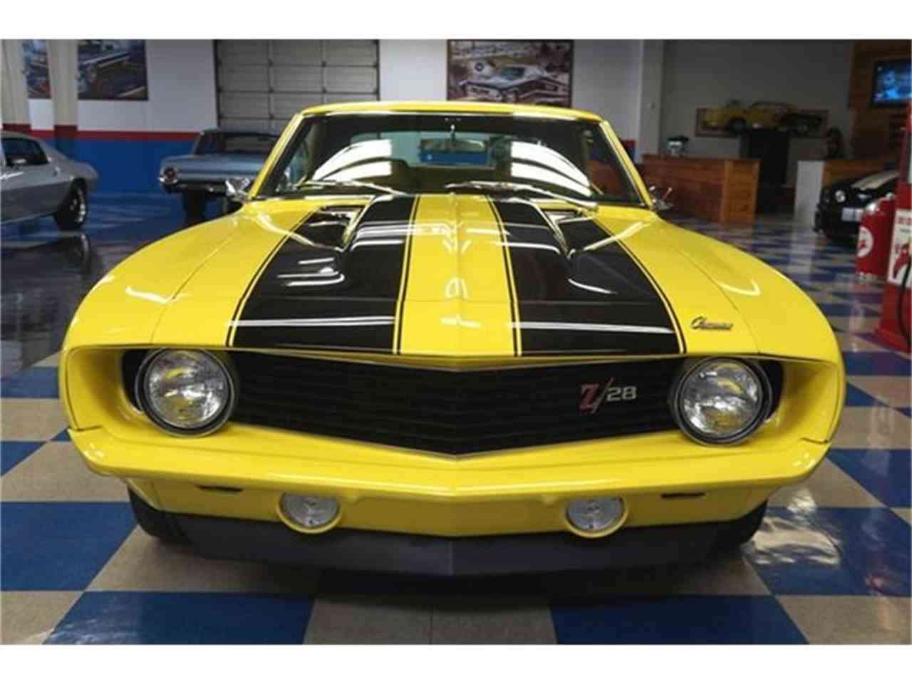Large Picture of '69 Camaro Z28 located in New Braunfels Texas Offered by A&E Classic Cars - C21T