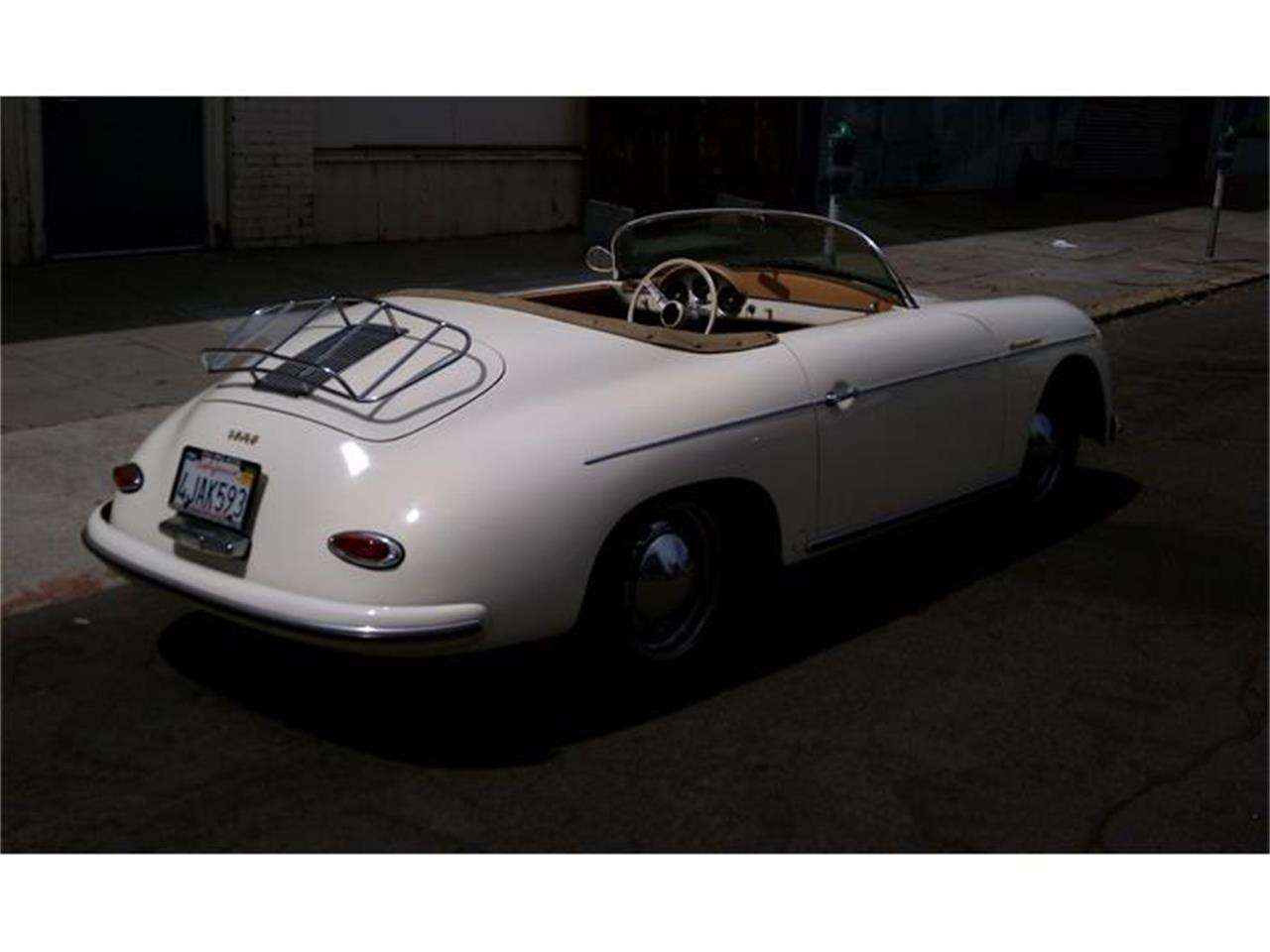 Large Picture of Classic '57 Porsche Speedster Auction Vehicle - C39J