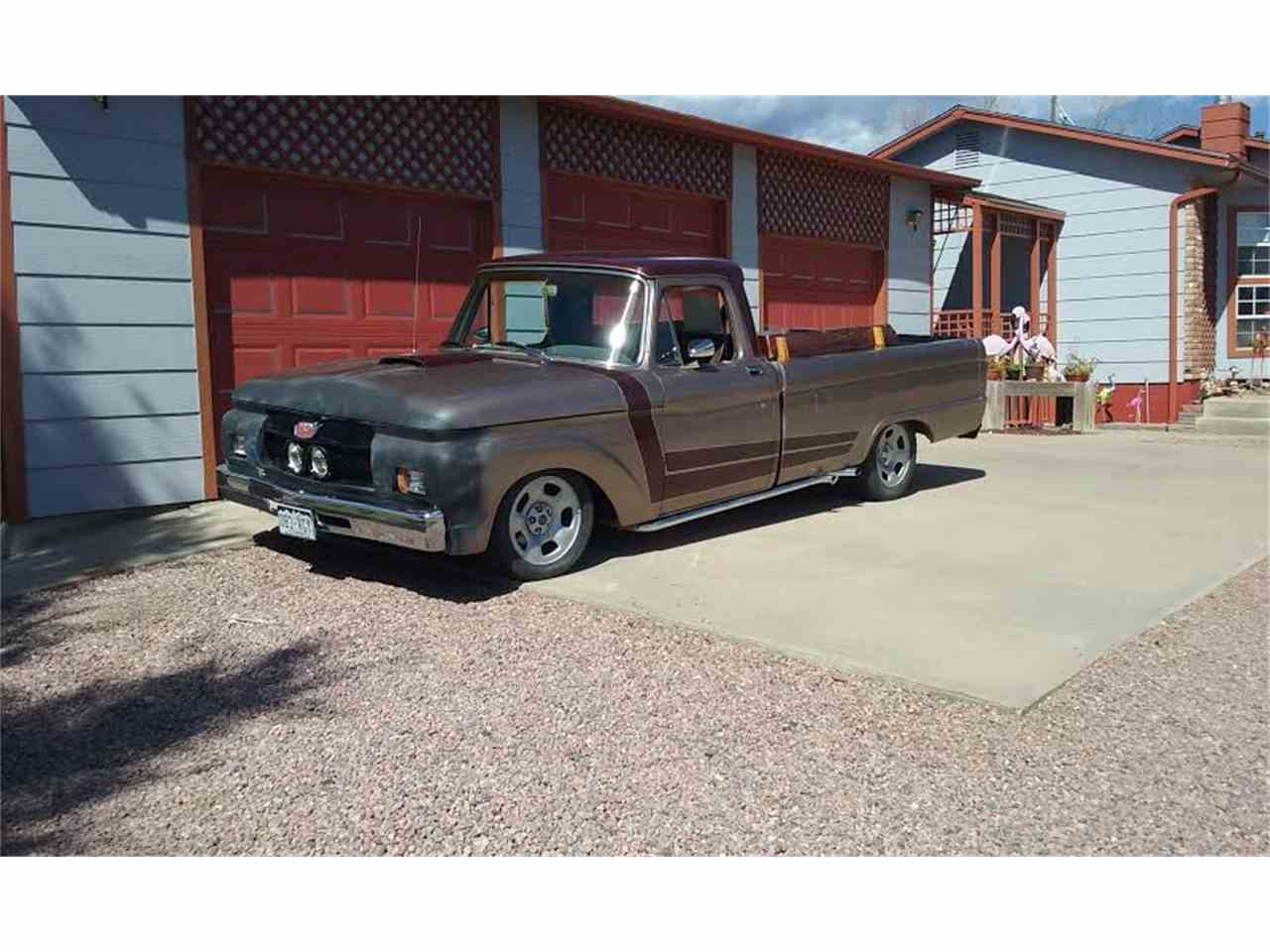 Large Picture of '64 F100 - C4SC