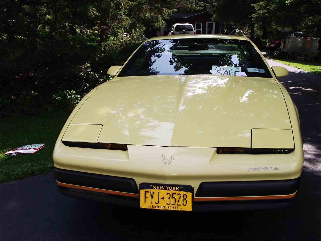 Large Picture of 1987 Pontiac Firebird Formula located in Palmyra New York - C5ZN
