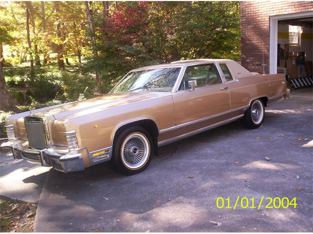 1979 Lincoln Town Car For Sale On Classiccars Com