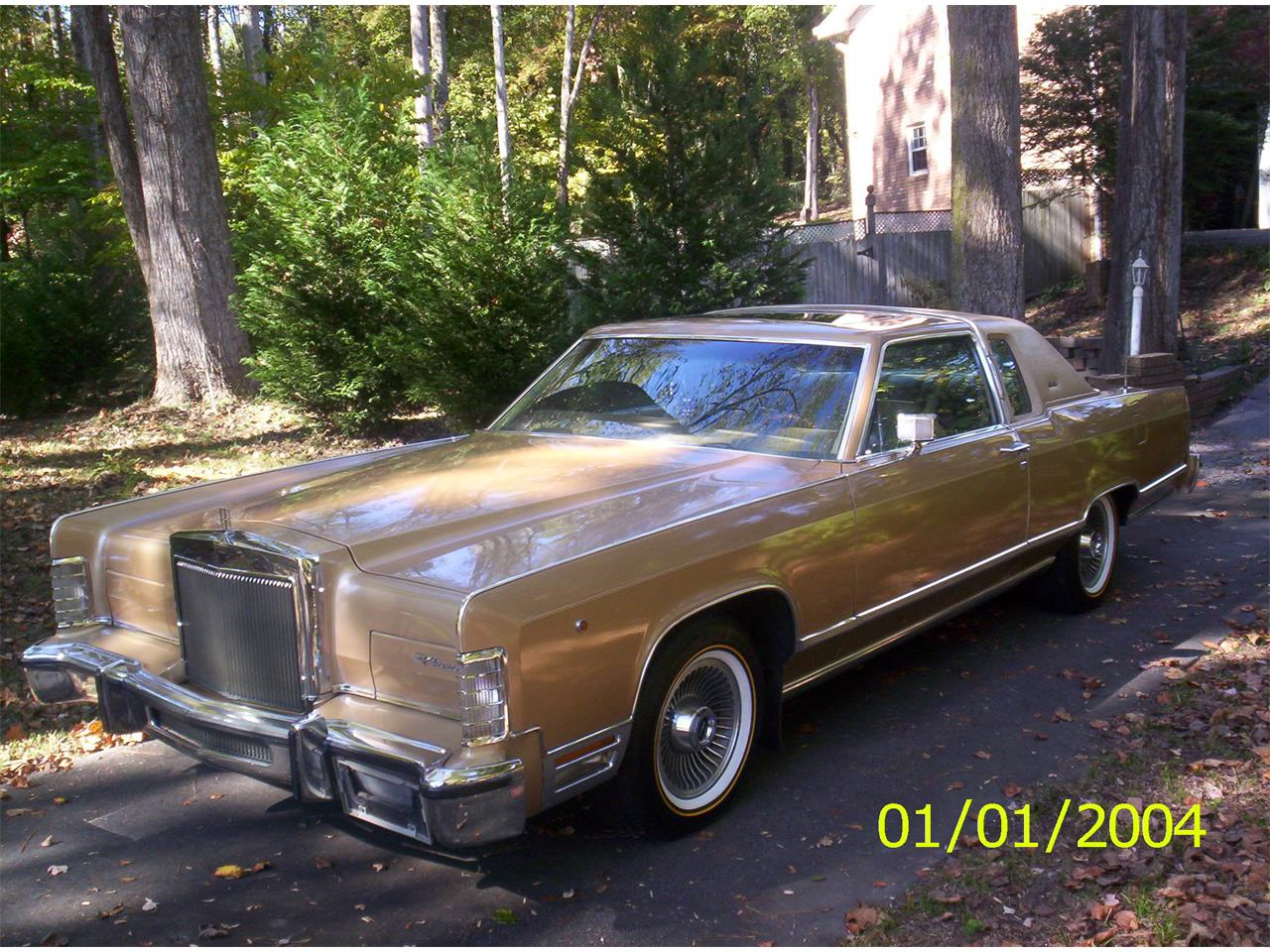 Large Picture of '79 Lincoln Town Car located in Cobb County Georgia - $17,000.00 Offered by a Private Seller - C6IM