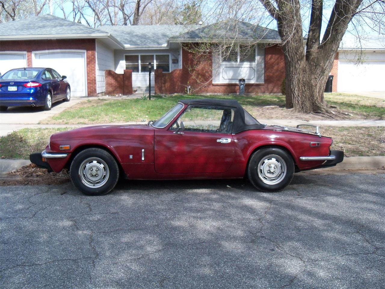 1976 triumph spitfire for sale cc 572087. Black Bedroom Furniture Sets. Home Design Ideas