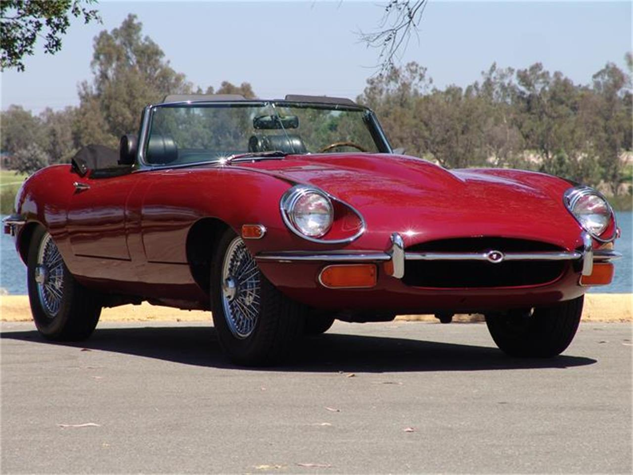 Large Picture of Classic 1969 Jaguar E-Type located in San Diego California Offered by Precious Metals - CB6Z