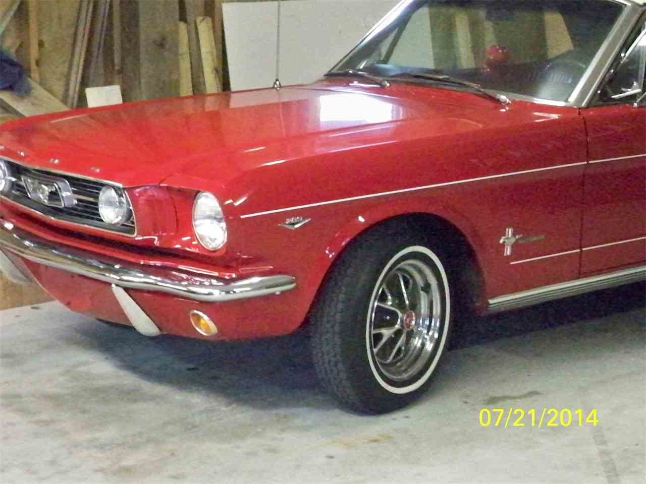 Large Picture of '66 Mustang - CDMV
