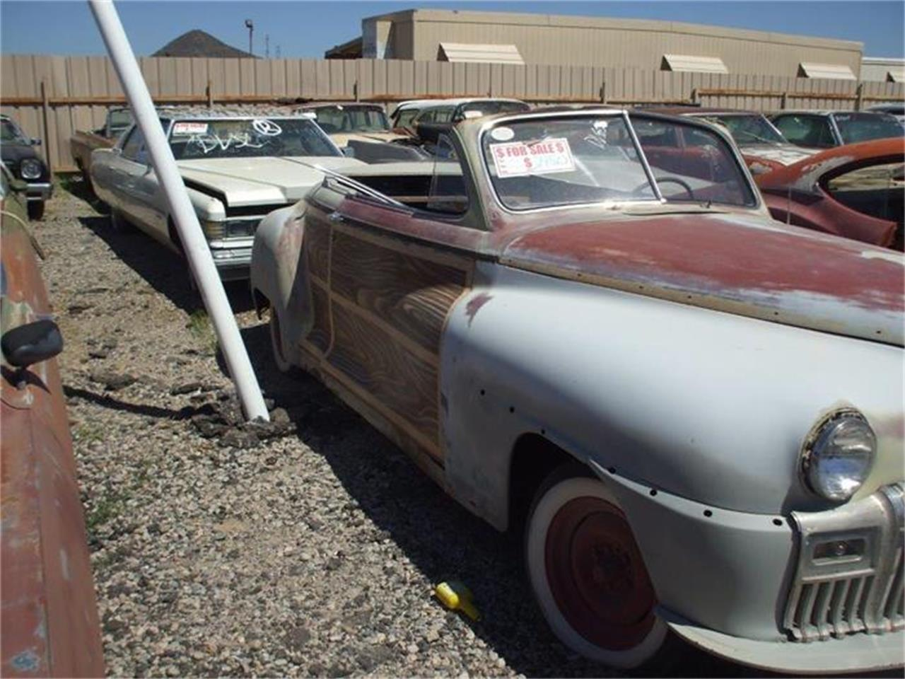 Large Picture of '46 DeSoto Custom located in Phoenix Arizona - $4,750.00 Offered by Desert Valley Auto Parts - CE61
