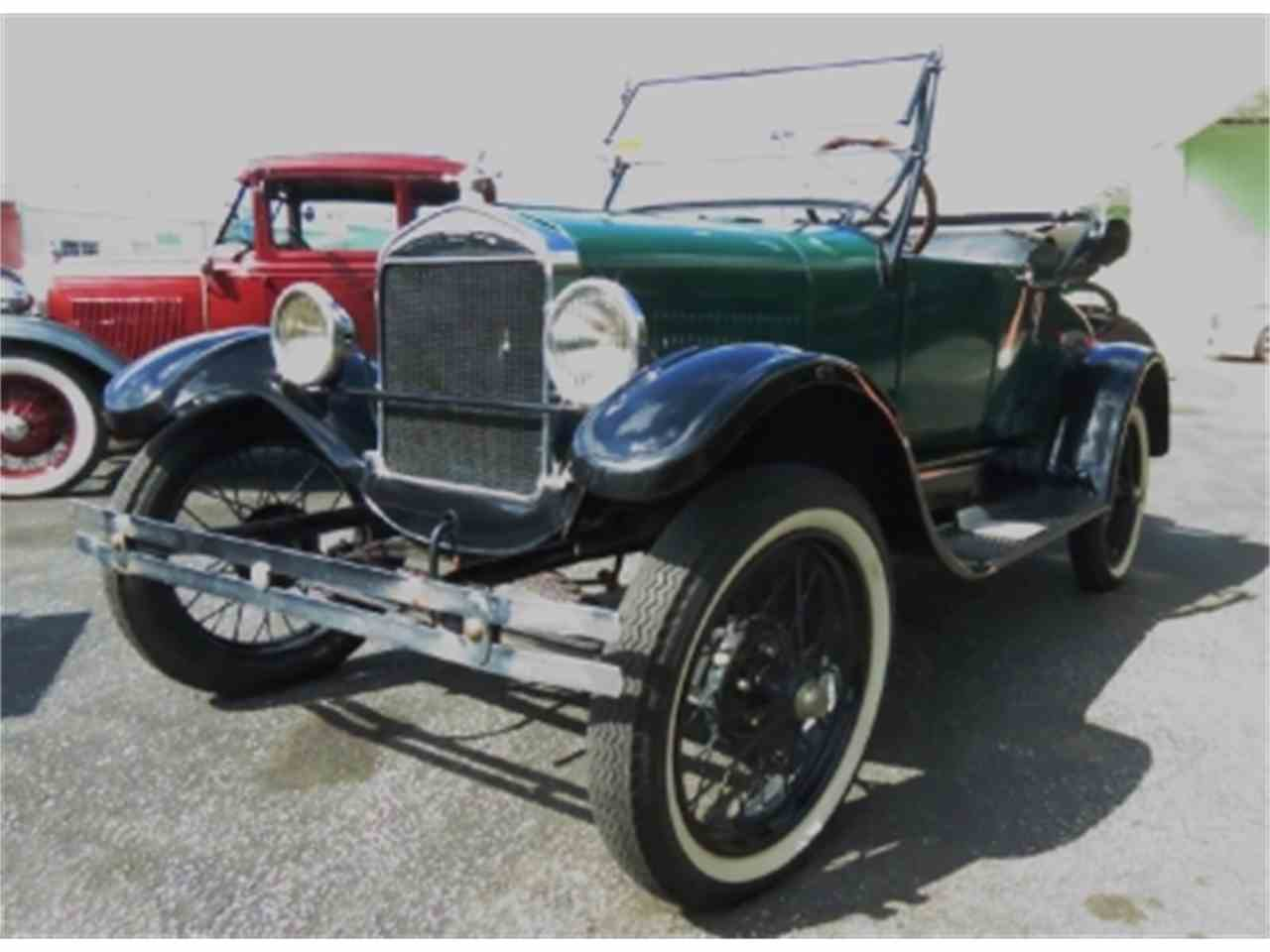 Large Picture of '27 Model T - COQA