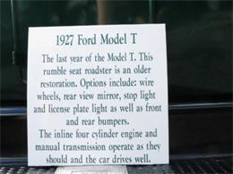 Picture of 1927 Ford Model T Offered by Sobe Classics - COQA